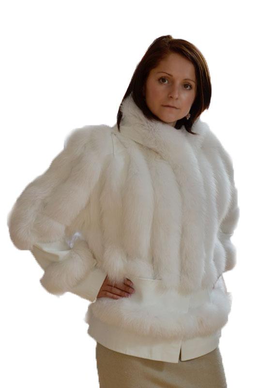Jacheta din VULPE POLARA