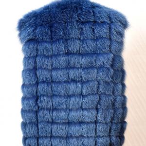 vesta blana albastra