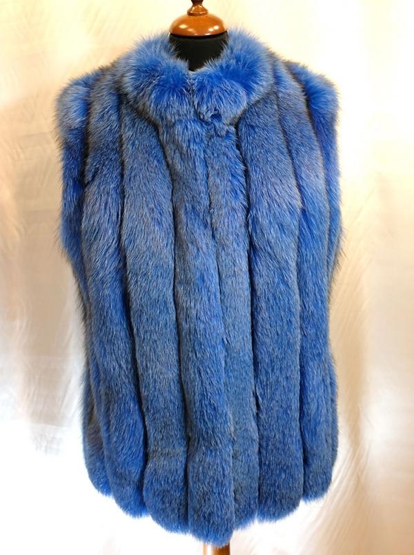 vesta vulpe albastra
